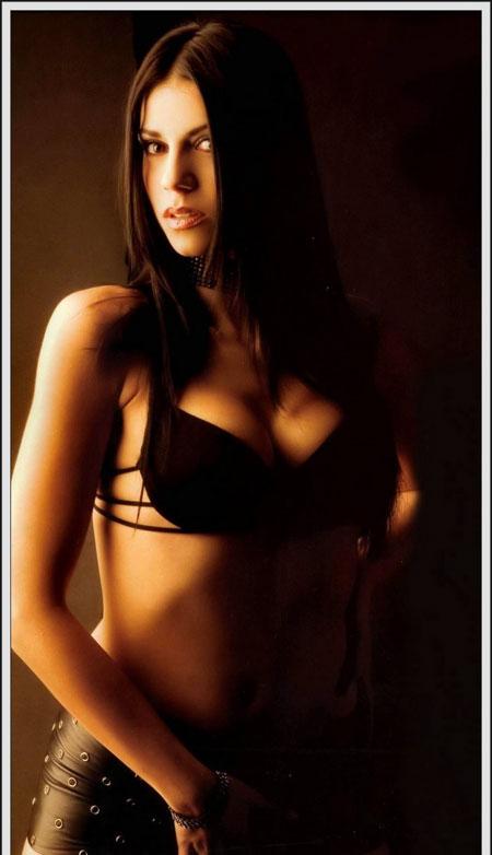 super hot brunette