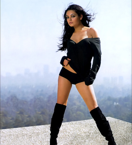 Hot babe in boots