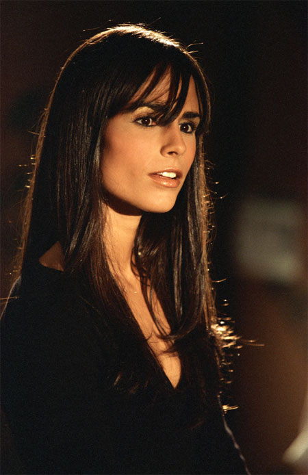 very sexy brunette