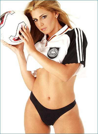 hot soccer babe
