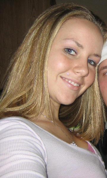 Cute blonde college girl