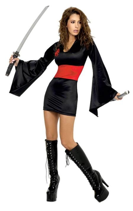 Hot Ninja Girl in boots