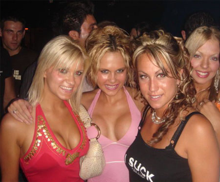 Hot party girls