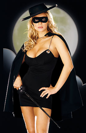 Hot Zorro babe