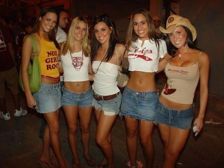 hot girls on spring break